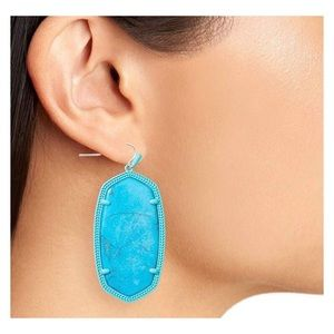 NWOT Kendra Scott Danielle statement earrings